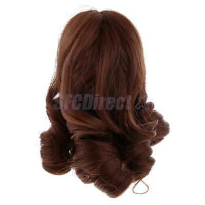 18'' Dolls Wigs Hairpiece DIY Accessories for American Girl Doll