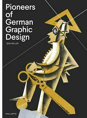 Pioneers of German Graphic Design by Jens Muller (English) Hardcover Book Free S
