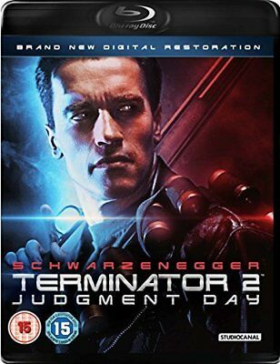 TERMINATOR 2 (1991) THE: JUDGMENT DAY 2017 RESTORATION T-800 v T-1000 2D BLU-RAY