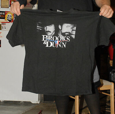 Brooks And Dunn Vintage Early T Shirt Nashville Xl Hanes Beefy T Nm Grammy