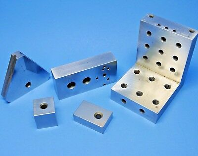 RIGHT ANGLE FIXTURE & GAGE BLOCKS machinist tools