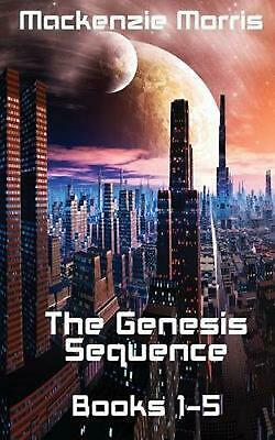 The Genesis Sequence Books 1-5 by MacKenzie Morris (English) Paperback Book Free