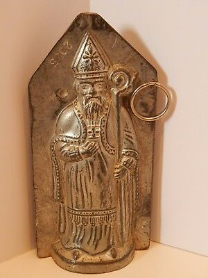 VTG Chocolate Mold Father Christmas St. Nicholas Anton Reiche Santa Claus