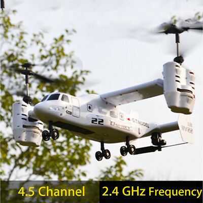 Osprey 2.4G Replaceable Transport Aircraft Helicopter RC Drone Flying Toy
