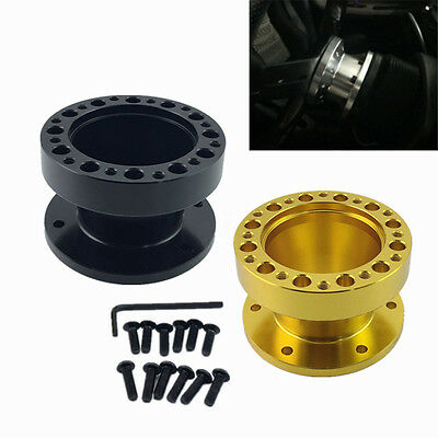 2'' 50mm Steering Wheel Boss Kit Spacer Adapter For MOMO OMP SPARCO Aluminum Hub