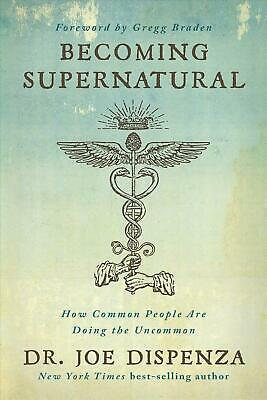 Becoming Supernatural by Francesco Dispenza Hardcover Book Free Shipping!