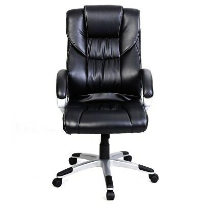 Modern Luxury PU Leather Chair High Back Racing Recliner Computer Office Chair
