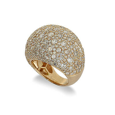 Brillant Ring 7,87 Ct *nobelklasse* 750 Gold Wert 31000 Euro Neu