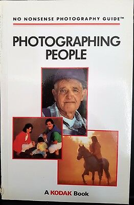 Kodak Photographing People Camera Book Photography No Nonsense Guide