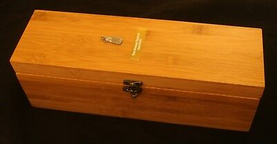 Diving Flipper Bamboo Luxury Wooden Wine Box FREE Engraving Diving Gift 132