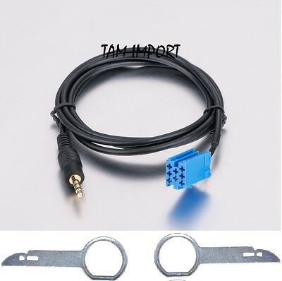 Cable Auxiliaire Mp3 + Extracteur Autoradio Vw Delta Beta  Aux In Neuf