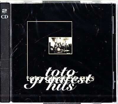 TOTO- The Greatest Hits 2-CD NEW SEALED (Very Best of inc Africa/Rosanna)