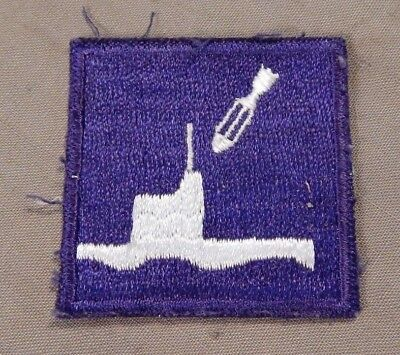 WWII Civil Air Patrol COASTAL PATROL, Anti-Submarine Uniform Patch, Original WW2
