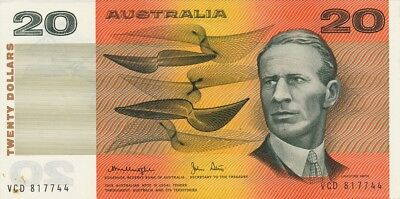 Central Bank Australia  $20 ND   Choice UNC