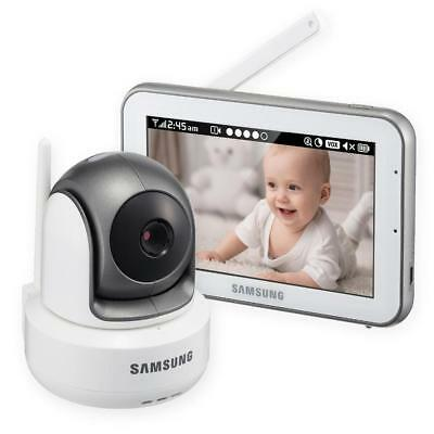 New Samsung Pan/Tilt/Zoom 5 inch Bright View Baby Video Monitoring System -