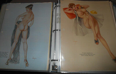 Vintage 1960s 75+ ALBERTO VARGAS GIRL PLAYBOY PIN-UPs - INSTANT COLLECTION! plus