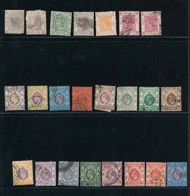 Hong Kong QV/GVI Mint &Used To $1 (50+Stamps) AU9792