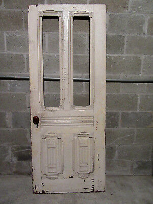 ~ Ornate Antique Victorian Door ~ Hall Tree? 30 X 74 ~ Architectural Salvage ~