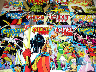 Camelot 3000  Full Set 1 2 3 4 5 6 7 8 9 10 11 And 12