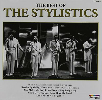 The Stylistics - The Best Of The Stylistics [Reissue] - The Stylistics CD 7PVG