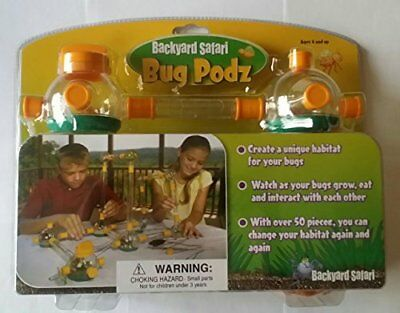 Backyard Safari Bug Habitat new backyard safari bug podz larger complete size pods 54 ps insect