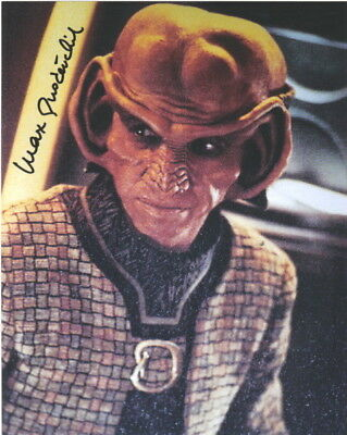 Max Grodenchik Star Trek Deep Space 9 Rom Autograph #5