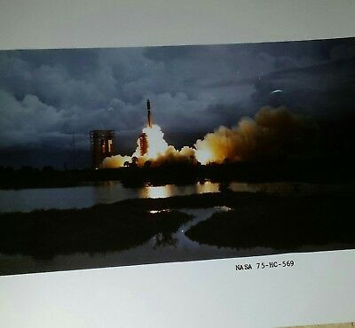 Lot of two 11 by 14 inch Viking NASA launch photos