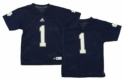 buy online 21565 d5a07 ADIDAS NCAA YOUTH Notre Dame Fighting Irish Team Color Replica Jersey, Navy