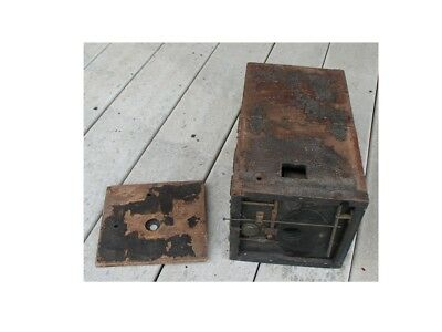 Antique wood Blair Hawkeye Detective camera as is parts or restoration