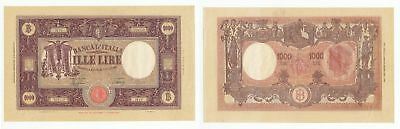 OD.034) ITALY 1000 lire 1943 / 11.08.1943 / large banknote / XF