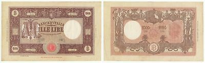 OD.035) ITALY 1000 lire 1943 / 22.09.1943 / large banknote / VF