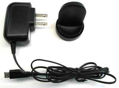 Genuine Samsung EP-OR720 Gear S2 S3 Wall Charger & Wireless Charging Dock Black