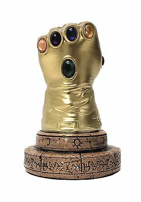 New Marvel Heroes Infinity Gauntlet Previews Exclusive Desk Monument Mib!