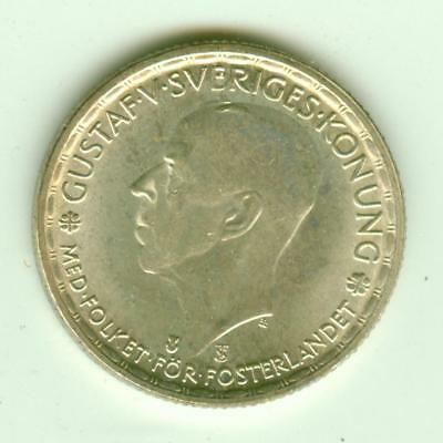 Sweden Silver Uncirculated 1946 Krona-Lot E12