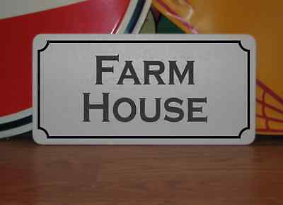 FARM HOUSE Metal Sign 4 Texas Country House Decor Store Man Cave