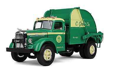 New Groot Co. Il. Vintage Mack Rear Load Garbage Truck By First Gear