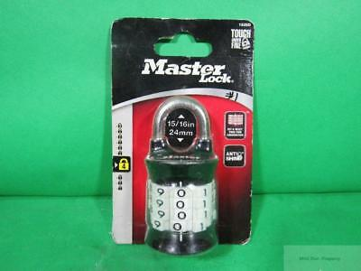 Master Lock Standard Quality Heavy Duty Set-Your-Own 4 Dial Combination Padlock