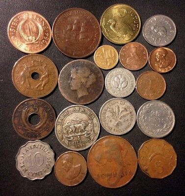 Old Africa Coin Lot - 1896-Present - 19 Great Coins - Lot #N14