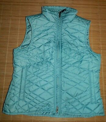Women's Royal Robbins Peralta Canyon Packable Quilted Vest S Aqua *MINT*