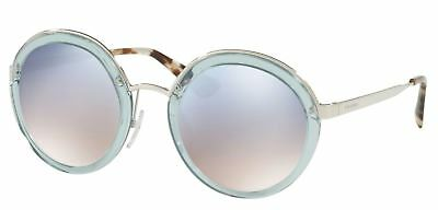 b7b0dd3664f AUTHENTIC PRADA 0PR 50TS VYS5R0 TRANSPARENT AZURE Sunglasses ...