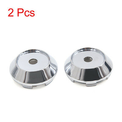 2Pcs 68mm Dia 6 Lugs Tire Wheel Center Hub Caps Cover Silver Tone for Car