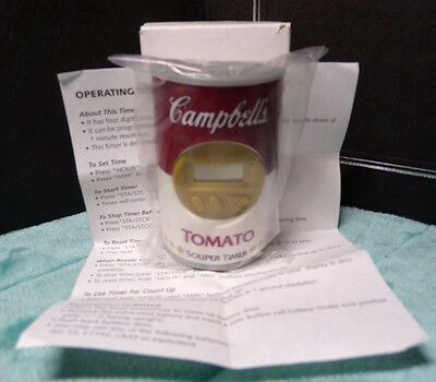 Campbell's ~ Tomato ~ Souper Timer ~ New ~ Magnet