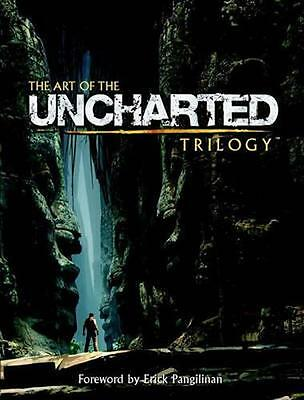 NEW The Art Of The Uncharted Trilogy by Naughty Dog Studios BOOK (Hardback)
