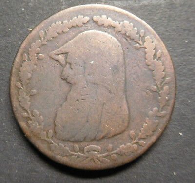 Anglesey Mines, 1788, Druid Head, Penny Token