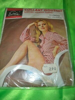 RAR Vintage ESDA DDR Feinstrumpfhose Gr. 5 espresso Tights Collant OVP