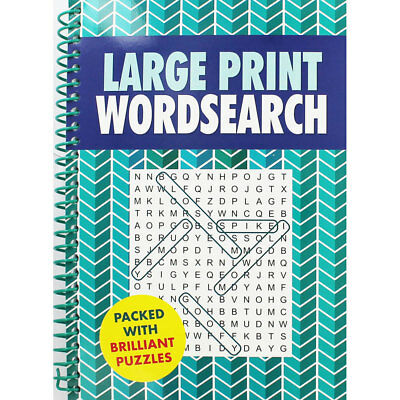 Large Print Wordsearch Book (Paperback), Non Fiction Books, Brand New