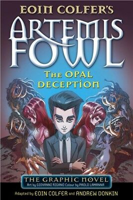 The Opal Deception: The Graphic Novel (Artemis Fowl Graphic Novels) (Paperback).