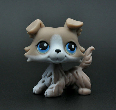 Without Magnet Pet Collie Dog Child Girl Figure Littlest Toy Loose Cute LPS928