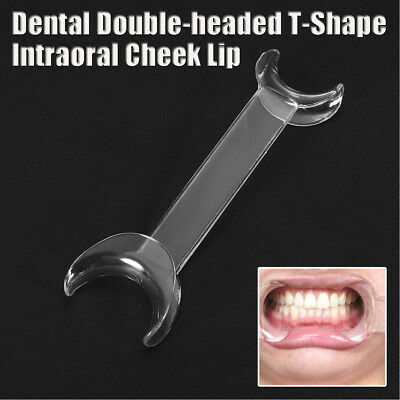 S/L T-SHAPE Dental Intraoral Cheek Retractor Lip Mouth Opener Teeth Whitening