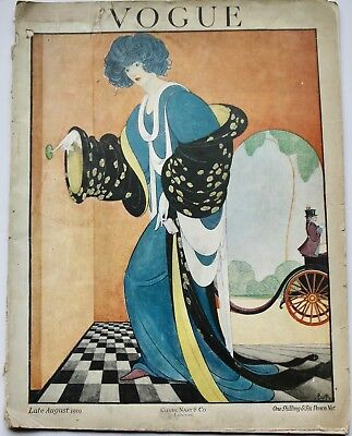 1919 London VOGUE Paris Fashion vintage Lucile Lanvin Worth Paquin Rolls-Royce